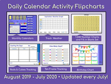 Calendars and Daily Math - Activboard August 2016 through