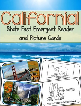 California! {An Emergent Reader and Picture Cards}