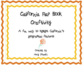 California Flap Book
