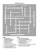 California Geography Crossword Puzzle