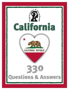 California Google It! Reader ~ 330 Questions & Answers ~ H