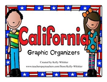 California Graphic Organizers (Perfect for KWL charts and