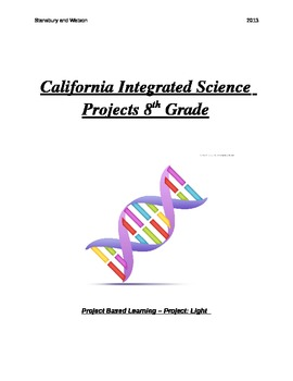 Common Core and California Integrated Science Projects for