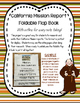 California Mission Report - Foldable Flap Book with Notes