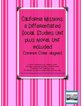 California Missions: a Differentiated Social Studies Unit