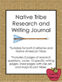 California Native Americans Research and Writing Pack