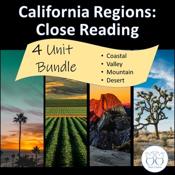 California Regions: Coastal, Mountain, Desert, and Valley