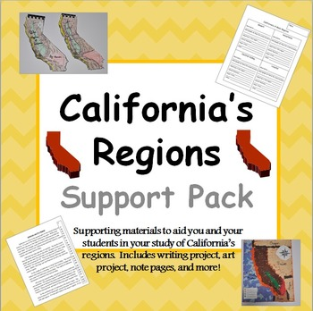 California Regions Support Pack