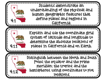 California Social Studies Standards