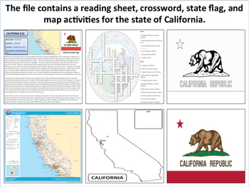 California - State Activity Set