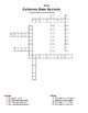California State Symbol Crossword