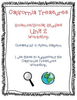 California Treasures First Grade Unit 2 Science/Social Stu