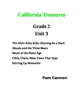 California Treasures Grade 2 Unit 3 Questions and Activities