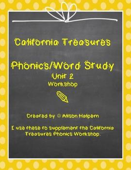 California Treasures Phonics Unit 2