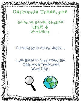 California Treasures Science/Social Science Workstations - Unit 4