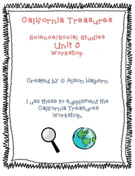 California Treasures Science/Social Science Workstations - Unit 5