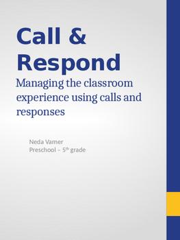 Call & Respond - Classroom Management