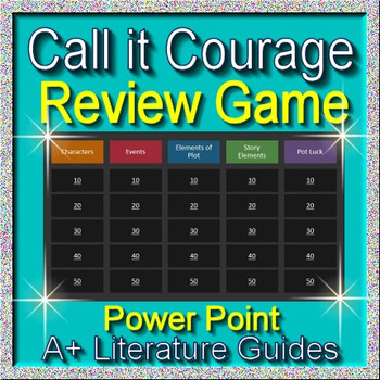 Call it Courage Review Game
