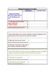 Call of the Wild: Chapter 1 Graphic Organizer Packet (3 pages)