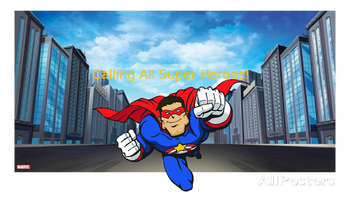 Calling All Superheroes (Introductory Super Hero Themed Le