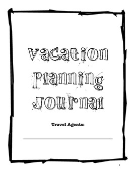 Calling All Travel Agents! - Math Project