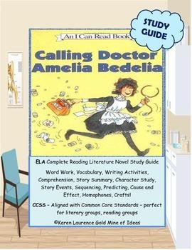 "Calling Doctor AMELIA BEDELIA ""I can Read Book"" ELA Readin"