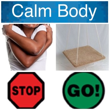 Calm Body Ready to Learn Picture Communication