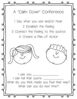 Calm Down Conference Poster
