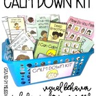Calm Down Kit- Visual Behavioral Management Tools for Students with Autism