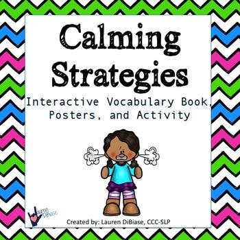 Calming Down Strategies Packet