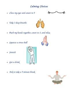Calming Strategies