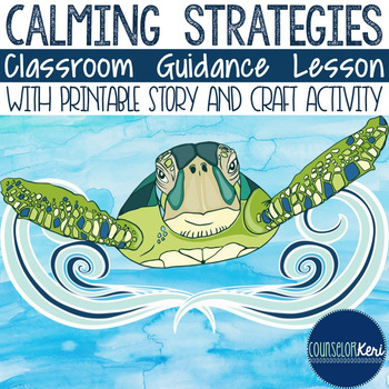 Calming Strategies Classroom Guidance Lesson for School Co