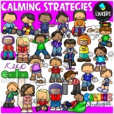 Calming Strategies Clip Art Bundle