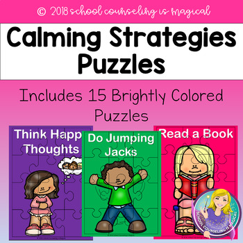 Calming Strategies Puzzles