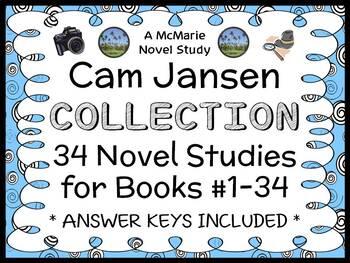Cam Jansen COLLECTION (David A. Adler) 34 Novel Studies/ C