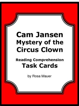 Cam Jansen: The Mystery of the Circus Clown Summer Reading
