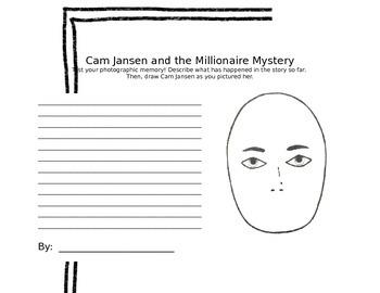 Cam Jansen: Plot Summary Writing Template