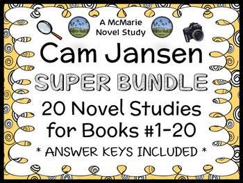 Cam Jansen SUPER BUNDLE (David A. Adler) 20 Novel Studies: