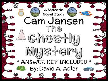 Cam Jansen: The Ghostly Mystery (David A. Adler) Novel Stu