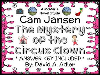 Cam Jansen: The Mystery of the Circus Clown (David A. Adle