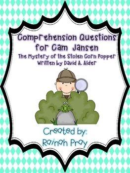 Cam Jansen The Mystery of the Stolen Corn Popper Comprehen