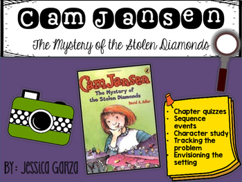 Cam Jansen The Mystery of the Stolen Diamonds NOVEL STUDY