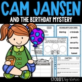 Cam Jansen and the Birthday Mystery Book Questions & Vocabulary