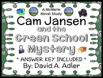 Cam Jansen and the Green School Mystery (Adler) Novel Stud