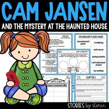 Cam Jansen and the Mystery at the Haunted House Book Quest