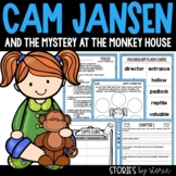 Cam Jansen and the Mystery at the Monkey House Book Questi