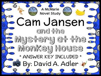 Cam Jansen and the Mystery at the Monkey House (David A. A
