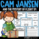 Cam Jansen and the Mystery of Flight 54 Book Questions and