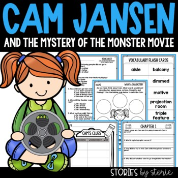 Cam Jansen and the Mystery of the Monster Movie Book Quest