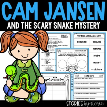 Cam Jansen and the Scary Snake Mystery Book Questions & Vo